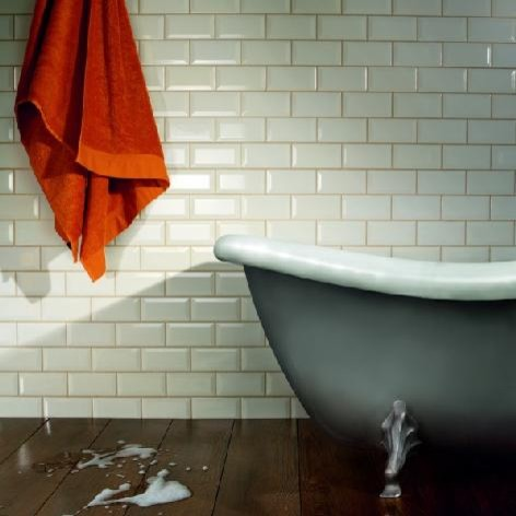 Chromatic Ceramic Tile Series traditional-bathroom