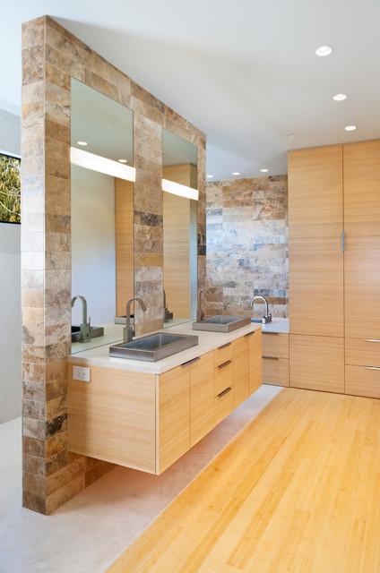 Chuckanut Ridge Modern Bathroom Seattle By
