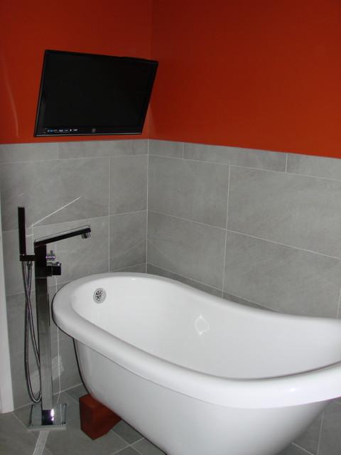 Cincinnati Residence modern contemporary-bathroom