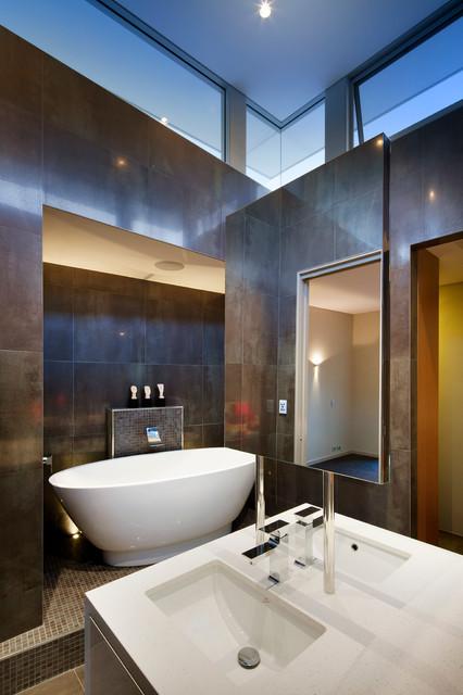 City Beach Residence contemporary-bathroom
