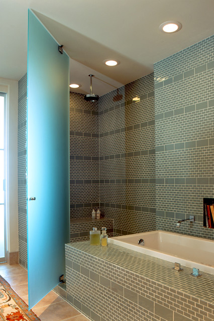 City Loft contemporary bathroom