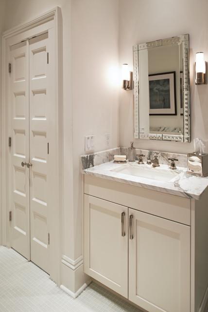 City Park Avenue New Orleans Transitional Bathroom