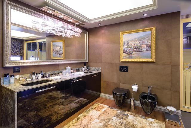 City Penthouse Contemporary Bathroom London By Marmeh Interior Design Ltd Uk