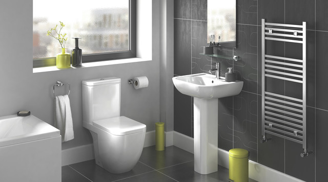 Clancy bathroom suite contemporary bathroom other for B q bathroom accessories