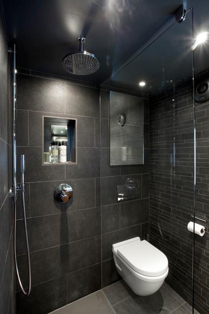 Clapham family home contemporary bathroom london for Mens bathroom designs