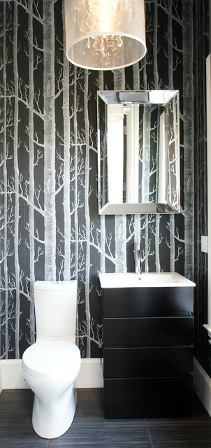 Claremont Park modern-bathroom