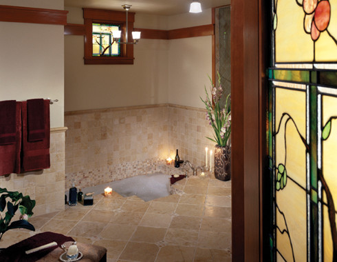 Classic arts and crafts style architecture traditional - Arts and crafts style bathroom design ...