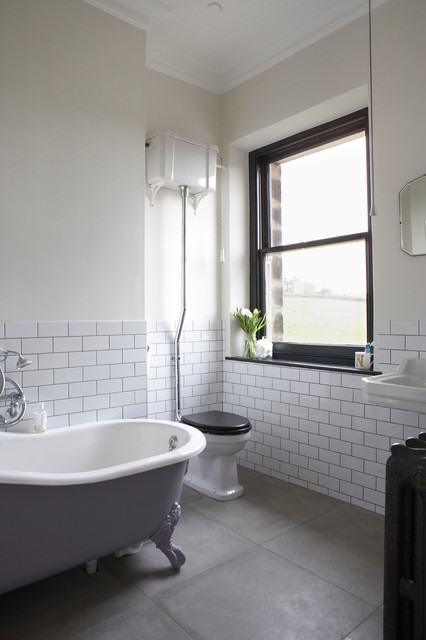 Classic Bathroom Victorian Bathroom London By