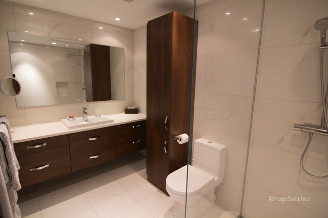 Classic bathroom design barrier free contemporary for Bathroom design montreal