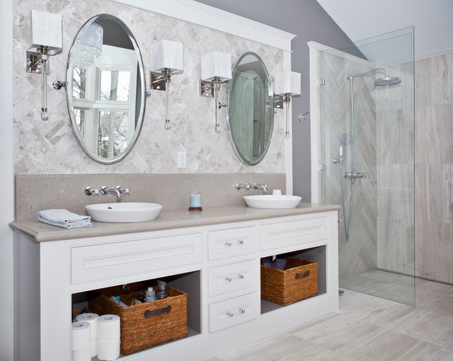 Classic Bathroom Remodel Burlington On Traditional Bathroom Toronto By Concept
