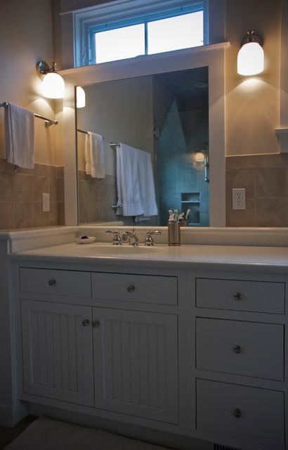 Classic Coastal White Kitchen Bathroom Traditional Bathroom Other By Reico Kitchen Bath