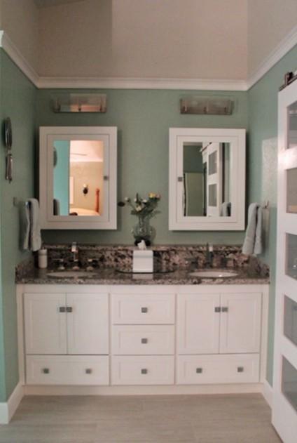 Classic Contemporary Bathroom Remodel - Contemporary ...