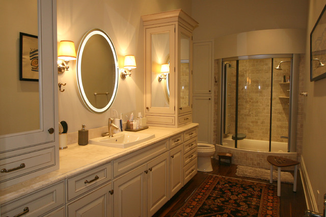 Wonderful Classic Cupboards Bathroom Design Traditional Bathroom Great Ideas