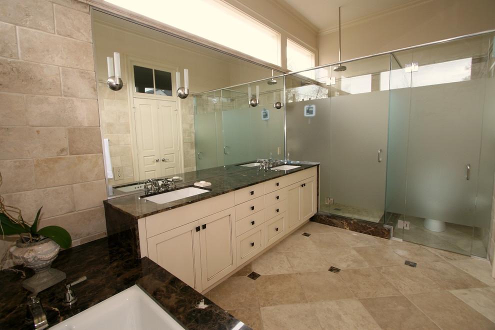 Classic Cupboards Bathroom Design - Traditional - Bathroom ...