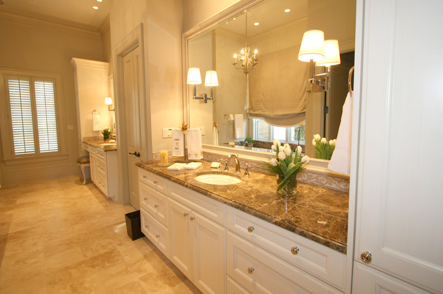 Classic cupboards bathroom design for Classic bathroom ideas