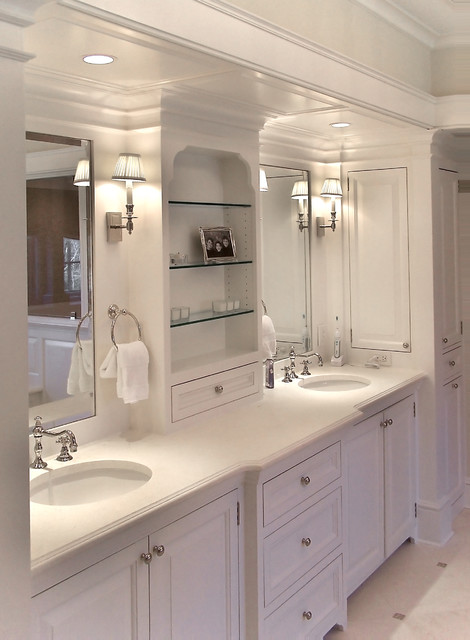 Classic Informality traditional-bathroom