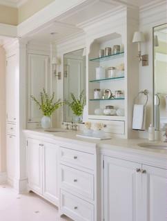 Classic Informality - Traditional - Bathroom - New York - by Daniel Contelmo Architects