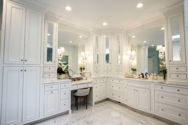Luxury St Louis Master Bath Remodel Traditional