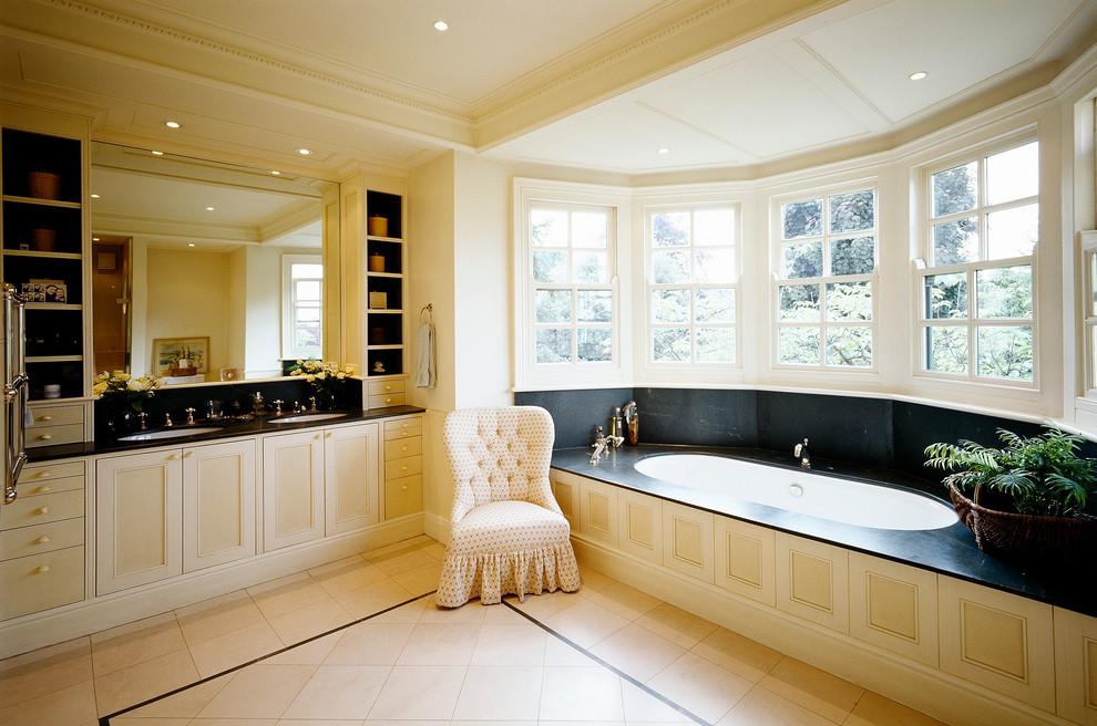 Classic Interior Design Wimbledon London Traditional Bathroom London By La Rizza Interior Design