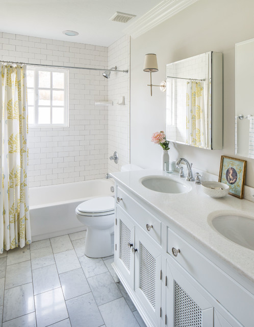 CLASSIC KIDS BATH - Traditional - Bathroom - Salt Lake City - by White + Gold Design