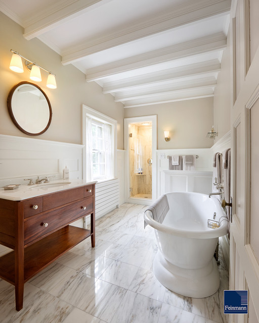 Classic kitchen traditional bathroom boston by for Bathroom remodel under 5k