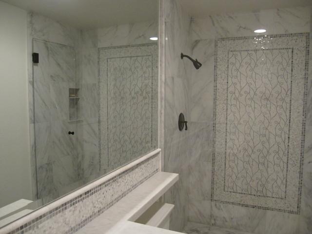 Classic Marble Bathroom Traditional Bathroom Orange