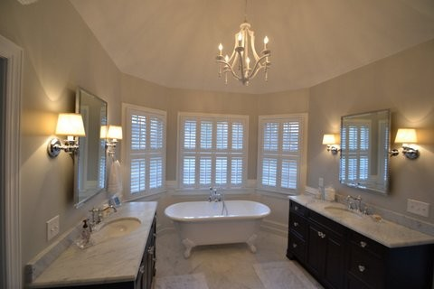Classic Master Bath Addition Traditional Bathroom
