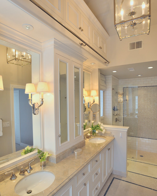 classic master bath traditional bathroom
