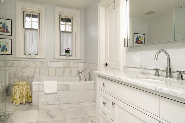 Classic meets modern master ensuite traditional for Classic master bathrooms