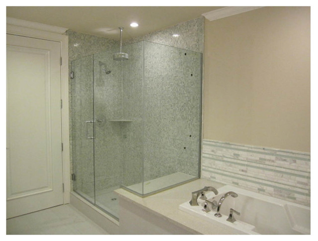 Classic Modern Master Bath Contemporary Bathroom Los Angeles