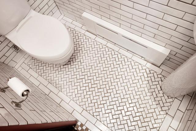 Classic Subway Bathroom Craftsman Bathroom