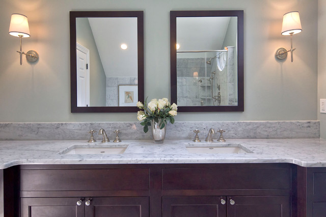 Classic Transformation traditional-bathroom