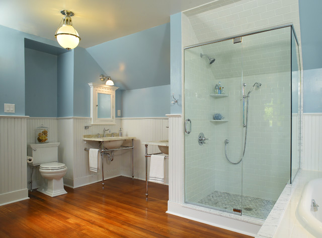 Classic Victorian Bathroom Maple Glen Pa Traditional