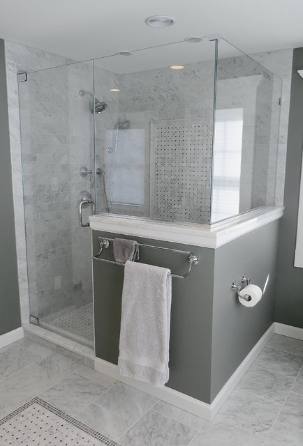 Classic West Hartford Master Bathroom