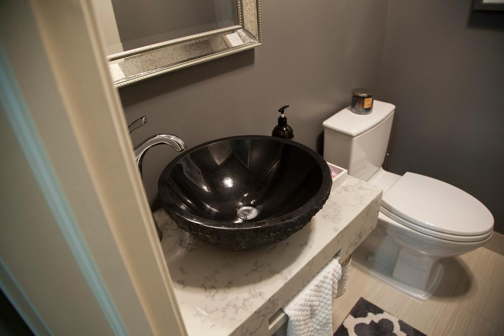 classical refresh  transitional  bathroom  calgary