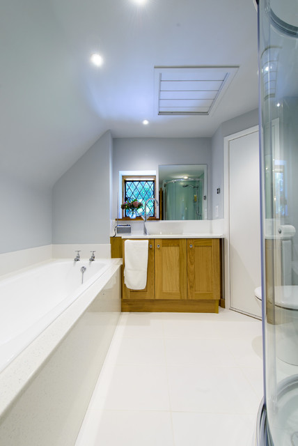 Classically Stylish Bathroom Contemporary Bathroom Kent By Roots Kitchens Bedrooms Bathrooms