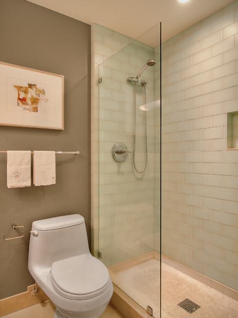 Classroom Condominium contemporary-bathroom