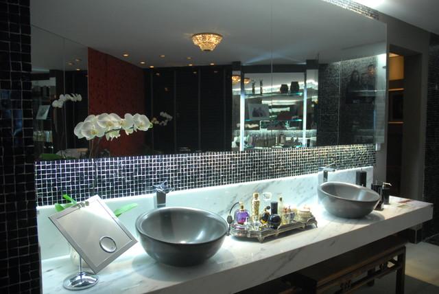 Claudia Guapo Interiors contemporary-bathroom