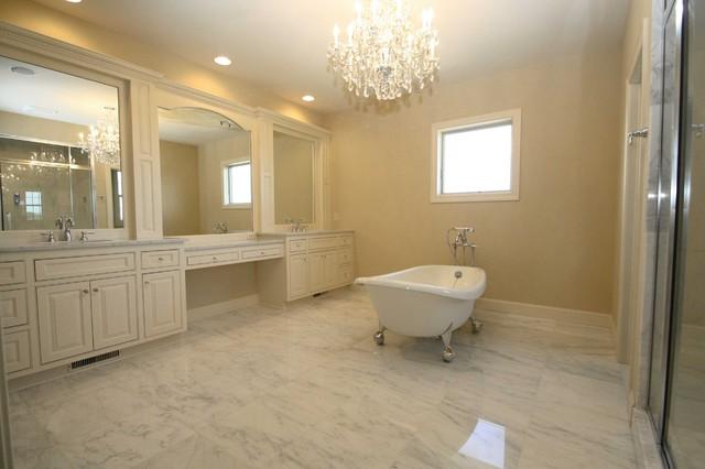 Claw foot tub traditional-bathroom