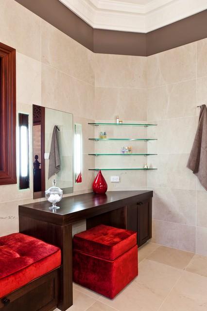 Clayfield ensuite contemporary bathroom brisbane for Bathroom interior design brisbane