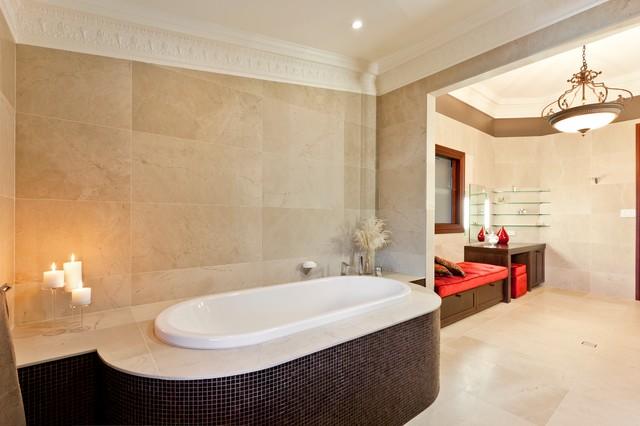 Clayfield Ensuite contemporary-bathroom