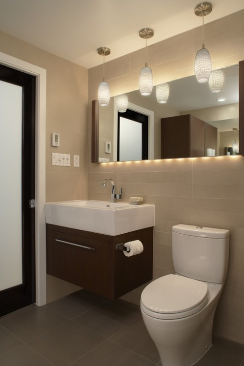 Simple For Instance, A Lot Of Bathroom Light Fixtures Can Be Added At Any  The Great Thing About This Type Of Mirrors Is That They Evenly Disperse The Light View In Gallery There Are Many Design Strategies You Can Use In The Case Of A Bathroom