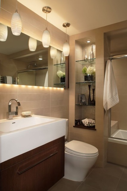 Marvelous Contemporary Bathroom by Xstyles Bath More Inc