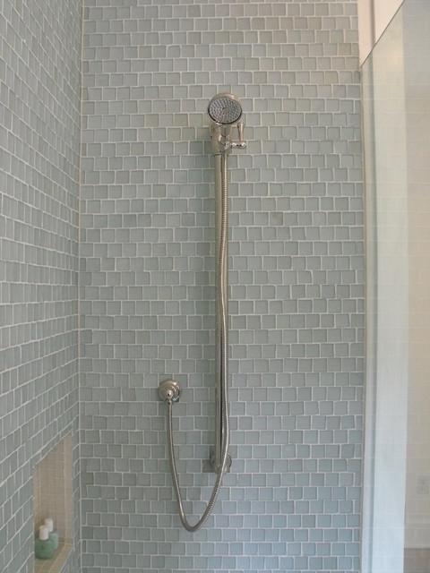 Clear Glass Bathroom Contemporary