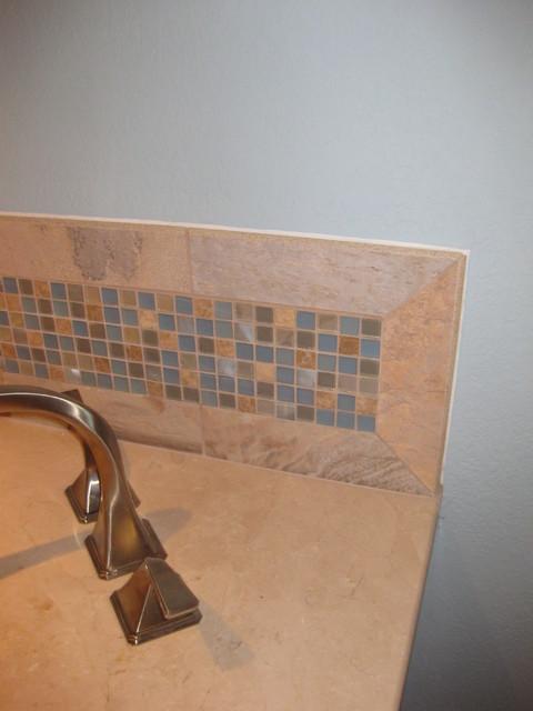 Clearwater Beach Condo transitional-bathroom