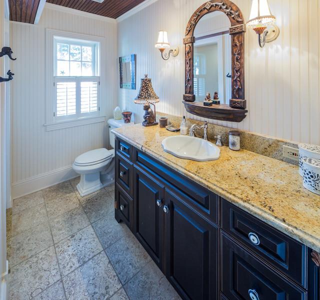 Clearwater Beach Home Beach Style Bathroom Tampa