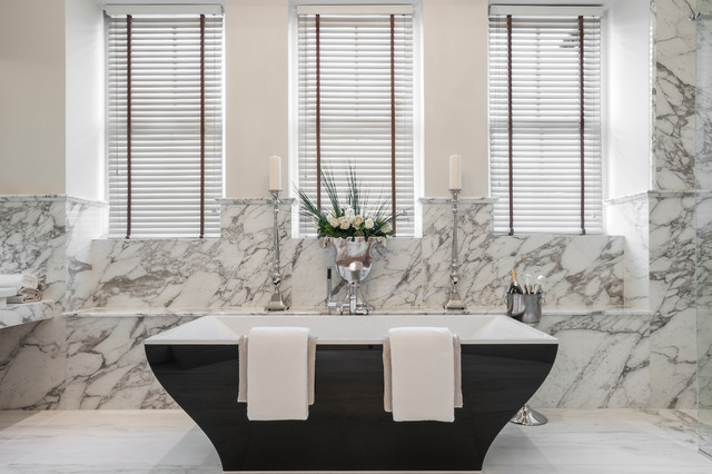 Cleeves house traditional bathroom berkshire by for Bathroom interior design london