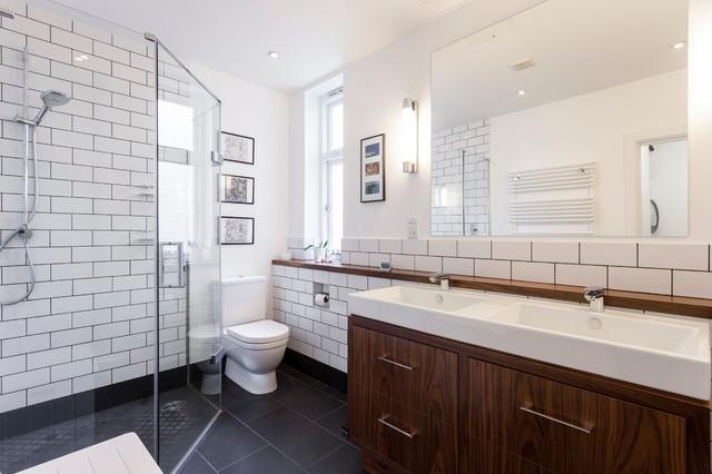 Chrome Bathroom Etagere   Houzz