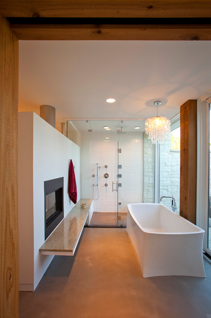 Clermont County Ohio Residence Modern Bathroom