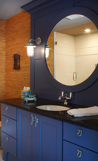 Client Home Gull Lake Mi Eclectic Bathroom Grand Rapids By Haisma Design Co Llc
